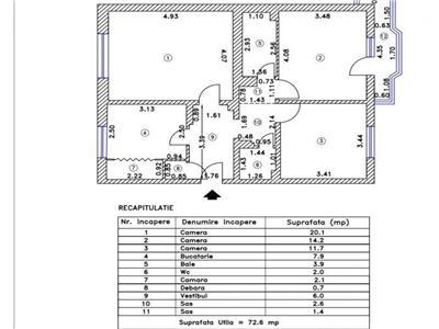 vanzare apartament 3 camere mall vitan Bucuresti