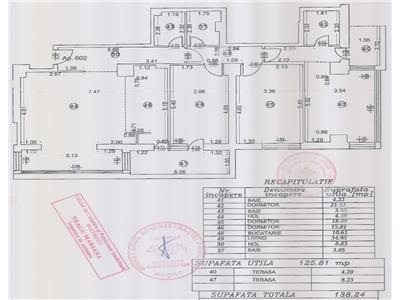 vanzare aparatament 4 camere baneasa - herastrau Bucuresti