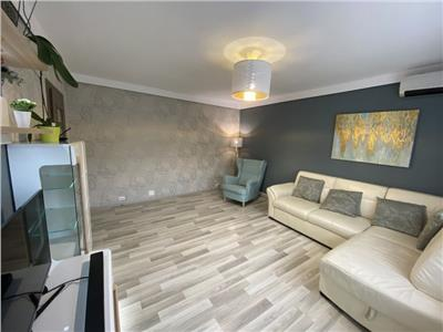 inchiriere apartament 3 camere aviatiei mobilat si utilat / dispune de centrala  termica Bucuresti