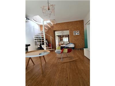 vanzare apartament 3 camere  tip duplex barbu vacarescu Bucuresti