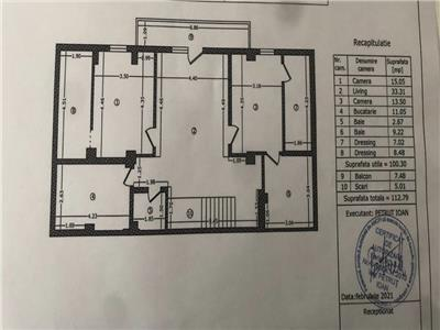 vanzare apartament 3 camere. Bucuresti