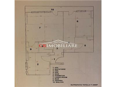 apartament de vanzare 2 camere eroii revolutiei residence Bucuresti