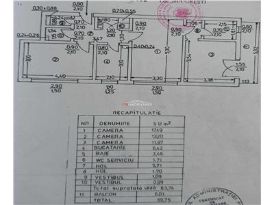 apartament de vanzare 3 camere dristor Bucuresti