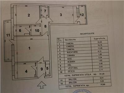 apartament 3 camere bd. timisoara Bucuresti